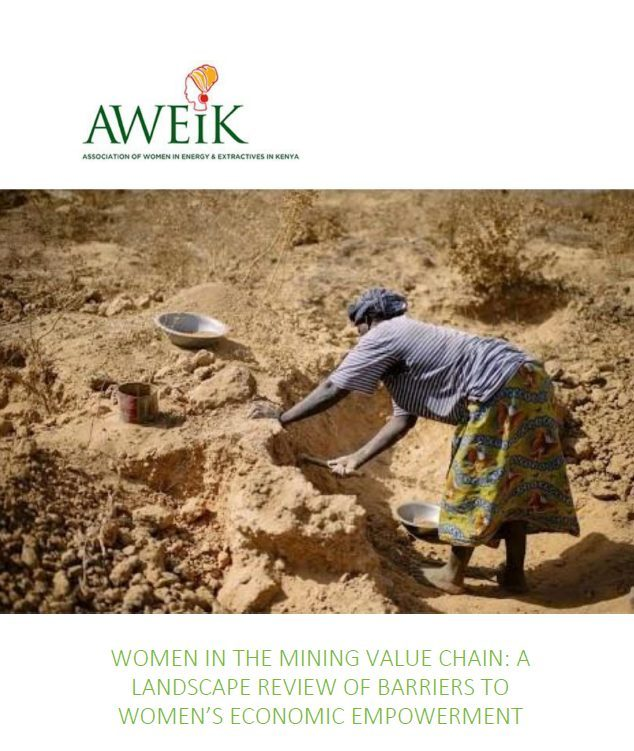 WOMEN IN THE MINING VALUE CHAIN